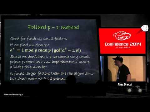 CONFidence 2014: NSA for dummies ...methods to break RSA - Aluc Dracul