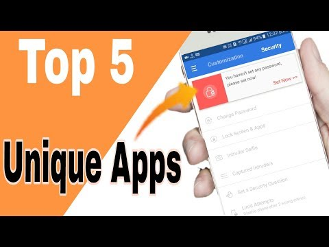 Top 5 Unique Android APPS | In PLAY Store 2017 Hindi | By Back 2 Android