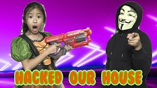 Game Master Hacks Our HOUSE While We Go Halloween Trick or Treat (EP5)