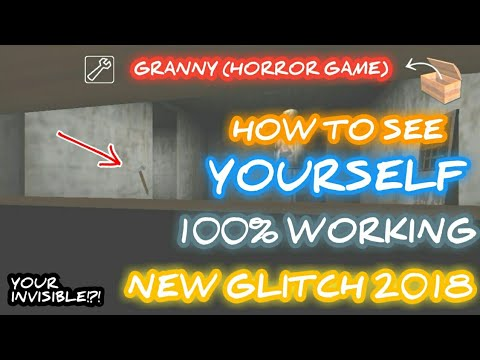 How To See Yourself in Granny (Horror Game) - New Glitch in Granny!