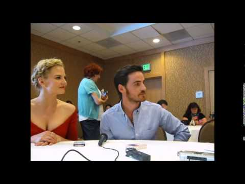 Once Upon A Time- Jennifer Morrison & Colin O'Donoghue