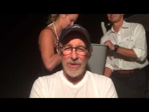 Steven Spielberg Accepts The ALS Ice Bucket Challenge From Oprah Winfrey