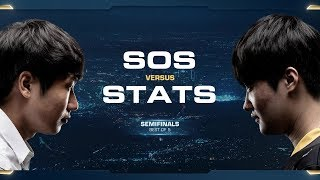 sOs vs Stats PvP - Semifinals - 2018 WCS Global Finals - StarCraft II