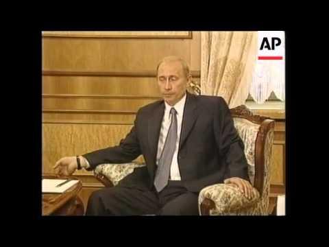 Putin & Trajkovski say Kosovo to blame for Balkans crisis