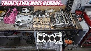 Completely Disassembled The Engine From The Mr2! The Block Was Worse Than We Thought...