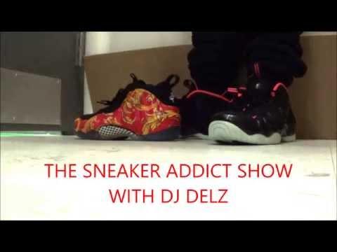 Nike Foamposite Yeezy Pro Sneaker On Feet HD With Dj Delz @DjDelz air