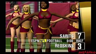 ESPN NFL 2K5 Demo Games | NO @ WAS | Very Good Day Game!!!
