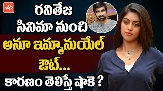 Anu Emmanuel Quit  in Mass Maharaja Ravi Teja  Movie Amar Akbar Anthony