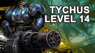 Starcraft 2 Co-op: Tychus from 14 to 15