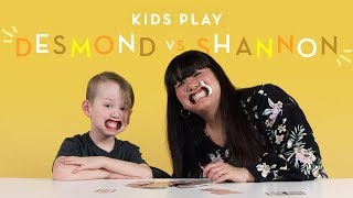 Desmond vs. Mom (Shannon) | Kids Play | HiHo Kids