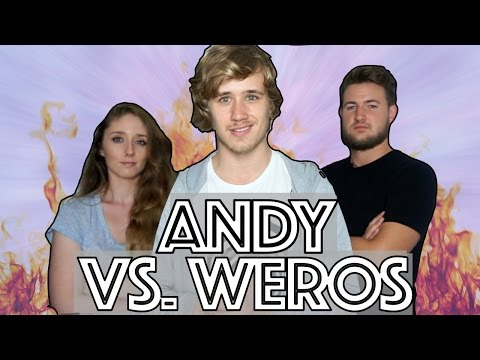 RETO ALEMAN vs ESPAÑOL   AndyGMes vs WeroWeroTV