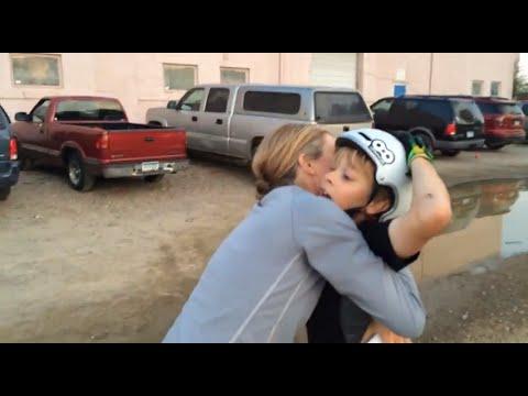 Lil Pros BMX Tour: 8 YEAR OLD Reed Bleymeyer Lands his First Backflip & Sheds a Tear
