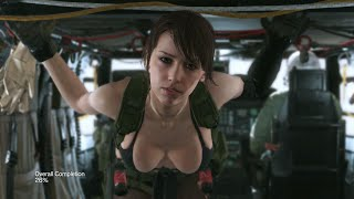 Quiet Seduces Snake: Metal Gear Solid The Phantom Pain