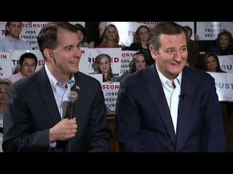Gov. Scott Walker says Ted Cruz is for a better future