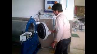 Automatic carpet rug washing machine and rug centrifuge wringer