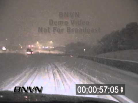 2/7/2003 Driving in dangerous snow video