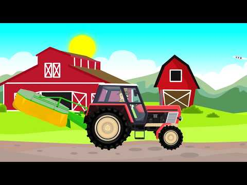 ☻ Tractor Fairy Tale for Kids | Cartoons for children | Bajki Traktor dla Dzieci - Animacje ☻