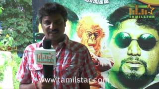 Guna Sekaran At Pandiyoda Galatta Thangala Movie Team Interview