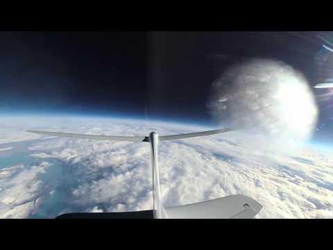 Perlan 2 Highest Ever Soaring Flight Above 65,000 feet