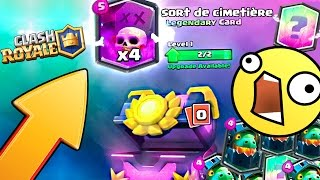 Clash Royale - Le MEILLEUR PACK OPENING ! Top 5 des plus CHANCEUX sur Clash Royal