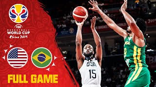 Team USA is too much for Brazil! - Full Game - FIBA Basketball World Cup 2019