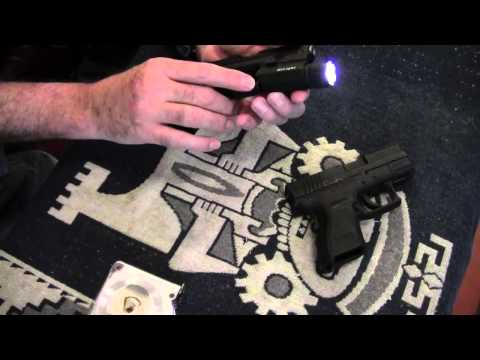 Home Defense Shotgun LED Strobe Light