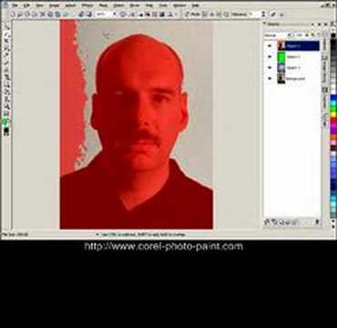Fast Masking in Corel PHOTO-PAINT X3