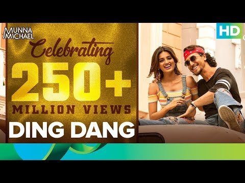 Ding Dang Song | Celebrating 250+ Million Views | Munna Michael | Tiger Shroff, Nidhhi Agerwal