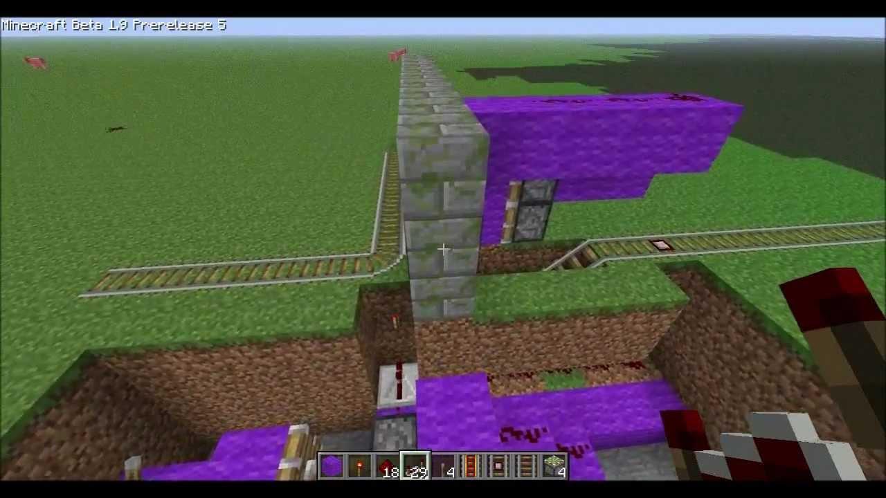Minecart Tracks Hidden Minecart Track