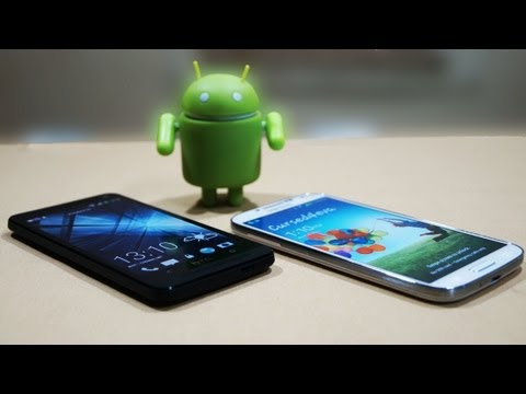 Samsung Galaxy S4 vs HTC One Comparison - Cursed4Eva.com