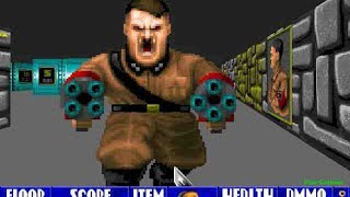 Wolfenstein 3D [ PS4 Pro ]  Dream in Wolfenstein®: The Old Blood \ Chapter 3 Wolfenstein Keep