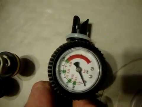 манометр давления для лодок пвх