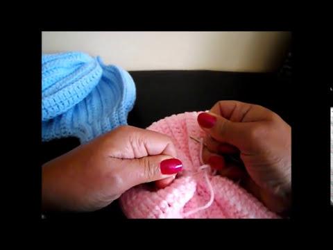 Crochet Gorro para Bebe'