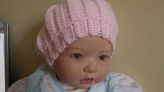 Cooking | Crochet Gorro para Bebe | Crochet Gorro para Bebe
