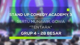 download lagu Stand Up Comedy Academy : Sertu Munawir, Gowa - gratis