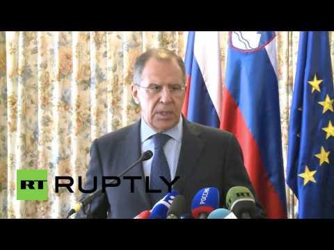 Slovenia: Lavrov urges EU to remove barriers to South Stream