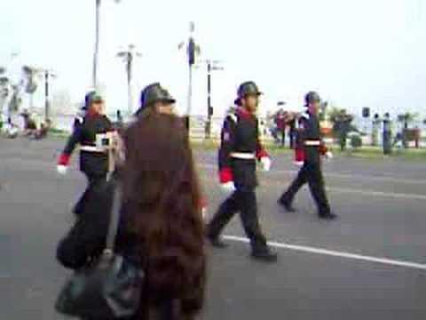 Desfile de bomberos de iquique