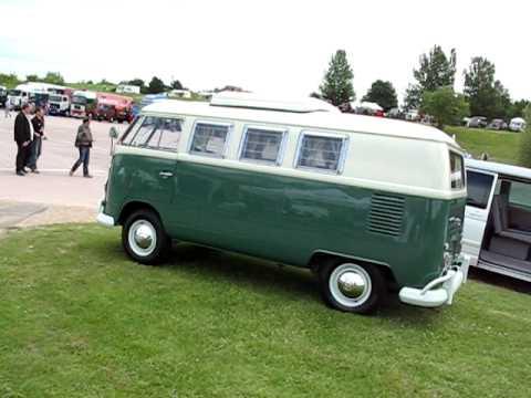 Classic Volkswagen Combi Camper Van from 1967