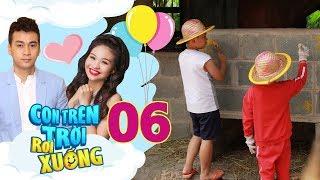 CON TRÊN TRỜI RƠI XUỐNG #6   Lê Lộc - Ngọc Thuận 'vác bầu' ra chợ bán kiếm tiền nuôi đàn con thơ 😂