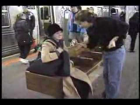 Subway Dancing! - Gregg Brown - Face of New York