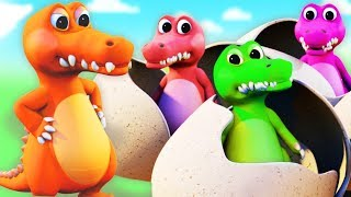 Crocodile Song | Five Little Crocodiles and More Kids Songs By All Babies Channel