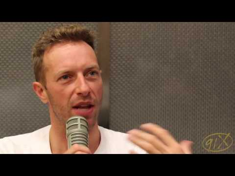 Chris Martin 91X Interview With Halloran