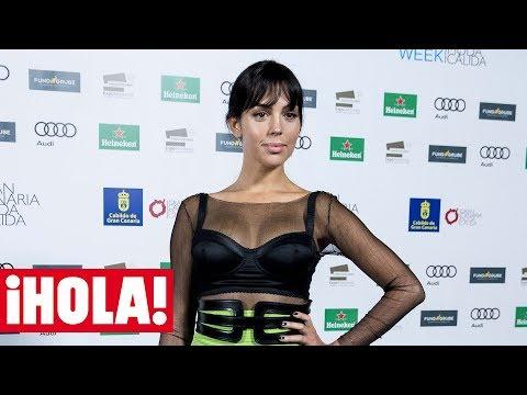 Las palabras de GEORGINA RODRÍGUEZ en su debut en solitario ante los medios