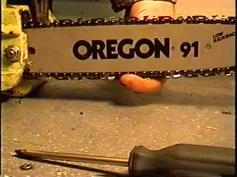 HOW TO Adjust The Chain on Your Poulan Chainsaw