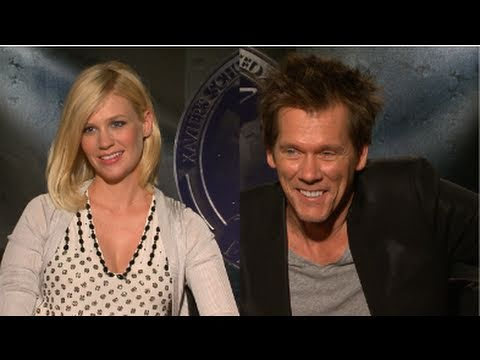 January Jones on Pregnancy and Prepping For X-Men