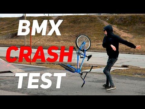 HI-TEN BMX CRASH TEST