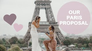 Paris Proposal | Lesbian Couple 2019