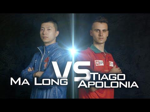 2014 Men's World Cup Highlights: MA Long vs APOLONIA Tiago (Quarter Final)