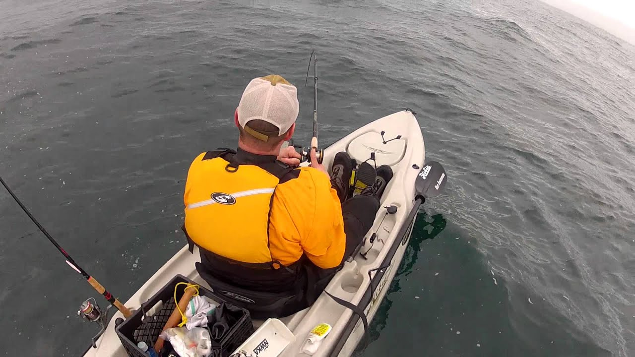 Kayak fishing pacific city oregon youtube for Oregon out of state fishing license