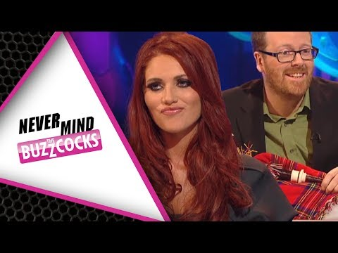 Frankie Boyle Questions Amy Childs' Vajazzle On Never Mind The Buzzcocks